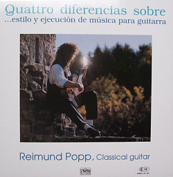 Quattro diferencias sobre LP Cover