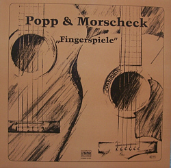 Fingerspiele Popp LP Cover