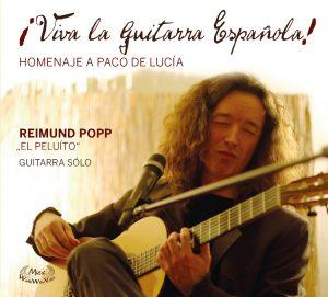 Viva La Guitarra Espanola CD Vorderseite Reimund Popp